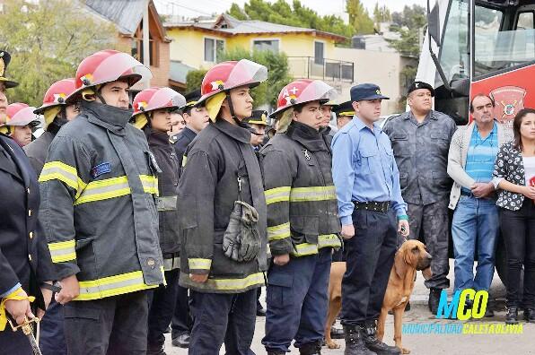 """Con reconocimientos, Unidad 16ta recordó el """"Día del Bombero"""""""
