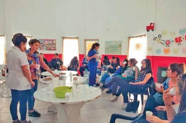Realizaron exitoso taller nutrición en el embarazo