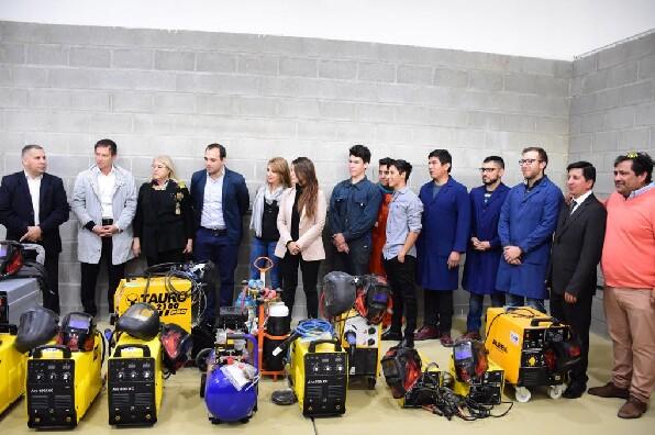 Inauguran el Centro de Formación Profesional 4 de Caleta Olivia