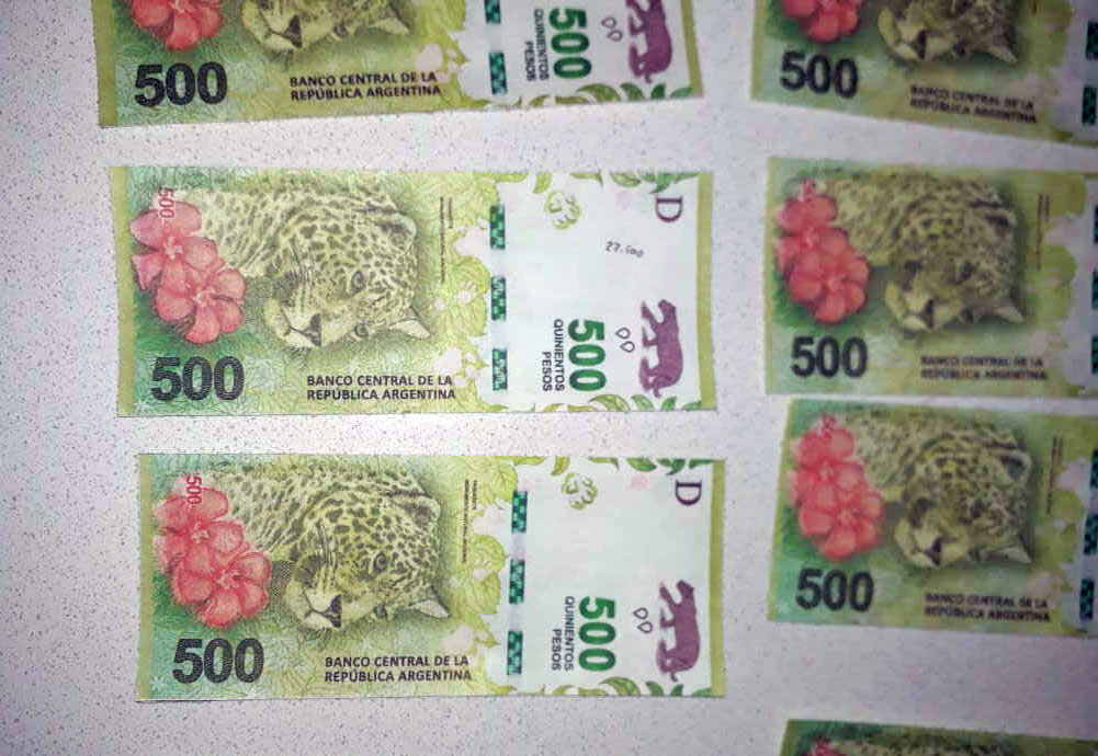 Billetes falsos fueron encontrados en los procedimientos ejecutados por la DDI.