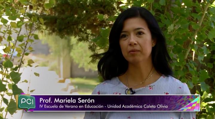 Mariela Serón, integrante de la organización del evento y una de las disertantes.