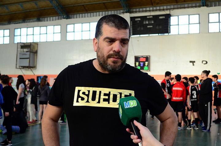 Daniel Barros referente de ACONAL.