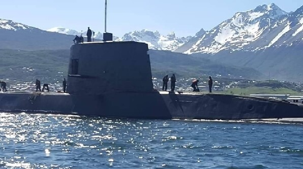 El ARA San Juan había detectado un submarino nuclear británico